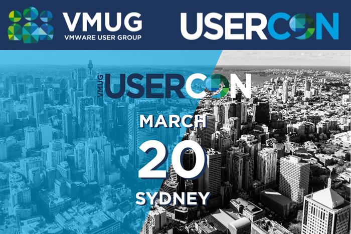 VMUG UserCon 2018