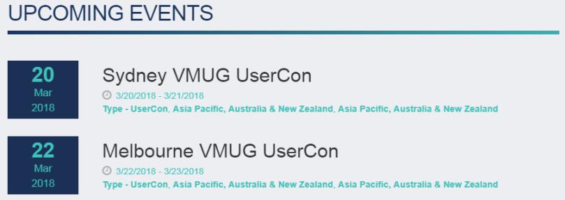 VMUG UserCon