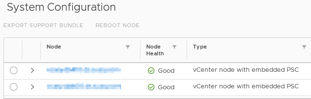 VCSA – LIFE IN A VIRTUAL SPACE